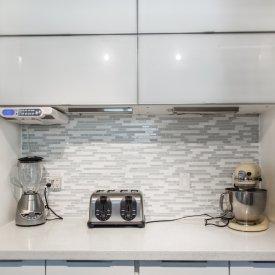 Kitchen Backsplash Install