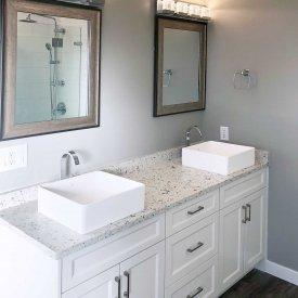 Full Cabinet in Bathroom