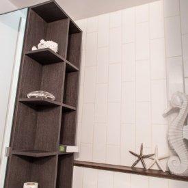 Bathroom TIle and Shelf Install